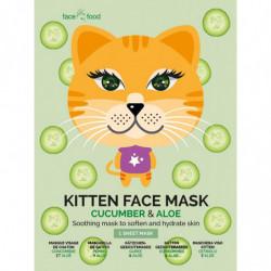 Masque visage tissu KITTEN...